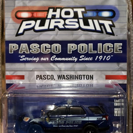 #51319 1/64th scale Pasco, Washington Police 2018 Ford Police Interceptor Utility