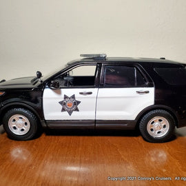 ***NEW*** Custom 1/24th scale Leawood, Kansas Police Ford Police Interceptor Utility diecast car (2020 graphics)