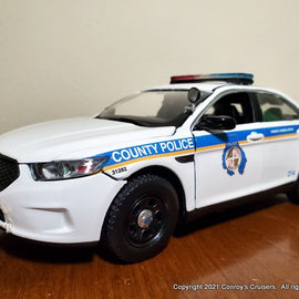 ***NEW*** Custom 1/24th scale Baltimore County, Maryland Police Ford Police Interceptor Sedan diecast car