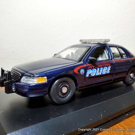 ***NEW*** Custom 1/43rd scale Atlanta, Georgia Police Ford Crown Victoria Police Interceptor