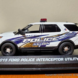 ***NEW*** Custom 1/43rd scale Killeen, Texas Police Ford Police Interceptor Utility
