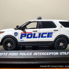 ***NEW*** Custom 1/43rd scale Baton Rouge, Louisiana Police Ford Police Interceptor Utility diecast model