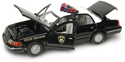 #27142 - 1/43rd scale Wyoming Highway Patrol Ford Crown Victoria