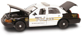 #27253 - 1/43rd scale Dodge City, Kansas Police Ford Crown Victoria