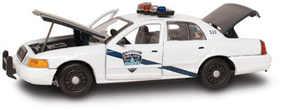 #27259 - 1/43rd scale Boise, Idaho Police Ford Crown Victoria
