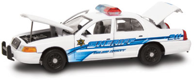 #27269 - 1/43rd scale Saline County, Kansas Sheriff Ford Crown Victoria