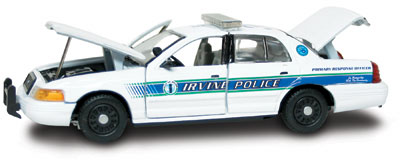 #27275 - 1/43rd scale Irvine, California Police Ford Crown Victoria