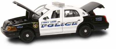 #27298 - 1/43rd scale Fort Lee, New Jersey Police Ford Crown Victoria