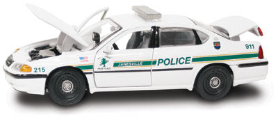 #27318 - 1/43rd scale Janesville, Wisconsin Police Chevrolet Impala