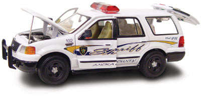 #27602 - 1/43rd scale Anoka County, Minnesota Sheriff Ford Expedition