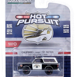 #42920-E 1/64th scale California Highway Patrol (CHP) 1995 Ford Bronco