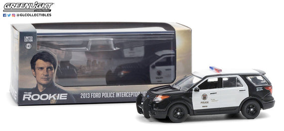 #86587 1/43rd scale LAPD 2013 Ford Police Interceptor Utility