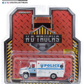 #33190-B 1/64th scale NYPD 2013 International DuraStar Emergency Service Truck
