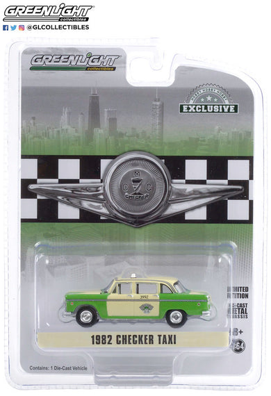 #30208 1/64th scale Chicago Checker Taxi Affiliates Inc 1982 Checker Motors Marathon A11  ***Due in September 2020***