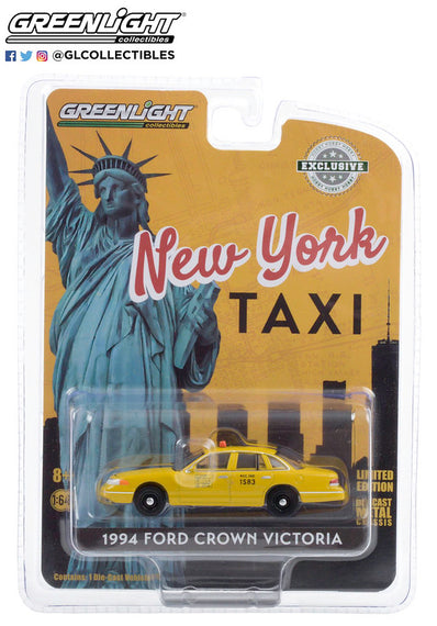 #30206 1/64th scale NYC Taxi 1994 Ford Crown Victoria