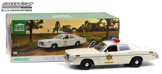 #19092 1/18th scale Hazzard County Sheriff 1975 Dodge Coronet