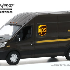 #53010-E 1/64th scale United Parcel Service 2019 Ford Transit LWB High Roof Cargo Van