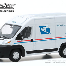 #53010-F 1/64th scale United States Postal Service 2019 Ram ProMaster 2500 High Roof Cargo Van