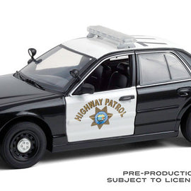 #85523 1/24th scale California Highway Patrol (CHP) 2008 Ford Crown Victoria Police Interceptor  ***Due in December 2020***