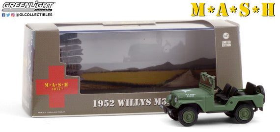 #86590 1/43rd scale 1952 Willys M38A1  ***Due in December 2020***