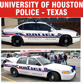 University of Houston (Texas) Police Decals