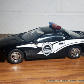 1/24th scale Chevrolet Police Vehicles Chevrolet Camaro Demo Car (LOOSE - no packaging)