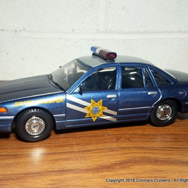 1/24th scale Nevada Highway Patrol 1996 Ford Crown Victoria model (LOOSE - no packaging)