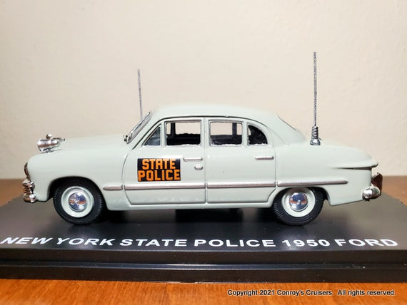 1/43rd scale New York State Police 1950 Ford Sedan