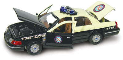 #27114 - 1/43rd scale Florida Highway Patrol Ford Crown Victoria