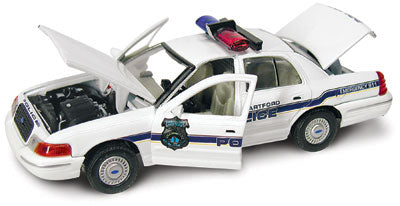 #27120 - 1/43rd scale Hartford, Connecticut Police Ford Crown Victoria