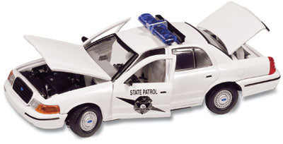 #27121 - 1/43rd scale Washington State Patrol Ford Crown Victoria