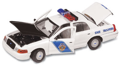 #27122 - 1/43rd scale Alaska State Troopers Ford Crown Victoria