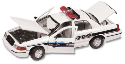 #27129 - 1/43rd scale Minneapolis, Minnesota Police Ford Crown Victoria