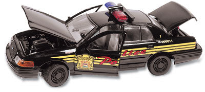 #27132 - 1/43rd scale Detroit, Michigan Police Ford Crown Victoria