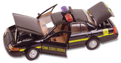 #27134 - 1/43rd scale Iowa State Patrol Ford Crown Victoria