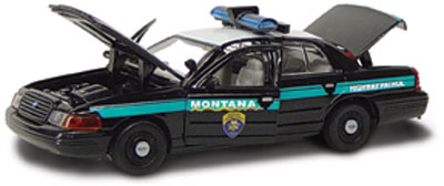 #27152 - 1/43rd scale Montana Highway Patrol Ford Crown Victoria