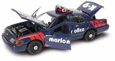 #27157 - 1/43rd scale Marion, Iowa Police K9 Ford Crown Victoria