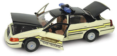 #27158 - 1/43rd scale Tennessee Highway Patrol Ford Crown Victoria (2nd issue)
