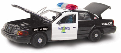 #27176 - 1/43rd scale International Association of Chiefs of Police (IACP) 2002 Convention Ford Crown Victoria