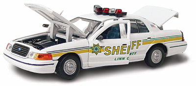 #27178 - 1/43rd scale Linn County, Iowa Sheriff Ford Crown Victoria
