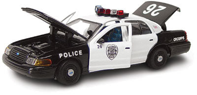 #27179 - 1/43rd scale Cedar Rapids, Iowa Police Ford Crown Victoria (2nd issue)