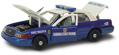 #27181 - 1/43rd scale Georgia State Patrol Ford Crown Victoria