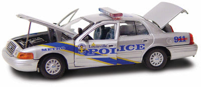 #27184 - 1/43rd scale Louisville, Kentucky Metro Police Ford Crown Victoria