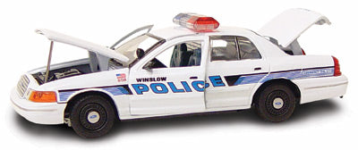 #27192 - 1/43rd scale Winslow, Arizona Police Ford Crown Victoria