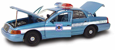 #27193 - 1/43rd scale Seattle, Washington Police Ford Crown Victoria