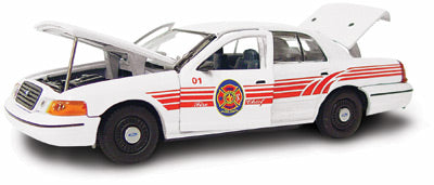 #27194 - 1/43rd scale Cedar Rapids, Iowa Fire Chief Ford Crown Victoria