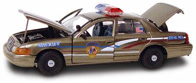 #27200 - 1/43rd scale Dane County, Wisconsin Sheriff Ford Crown Victoria