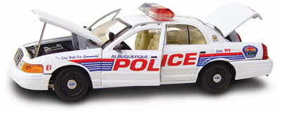 #27203 - 1/43rd scale Albuquerque, New Mexico Police Ford Crown Victoria
