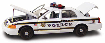 #27204 - 1/43rd scale Tulsa, Oklahoma Police Ford Crown Victoria