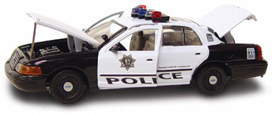 #27206 - 1/43rd scale Las Vegas, Nevada Metro Police Ford Crown Victoria